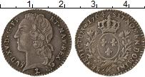 Изображение Монеты Франция 1/10 экю 1764 Серебро XF Людовик XV