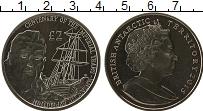 Продать Монеты Антарктика 2 фунта 2015 Медно-никель