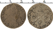 Изображение Монеты Франция 1/8 экю 1707 Серебро VF