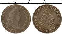 Изображение Монеты Франция 4 соля 2 денье 1692 Серебро VF