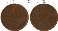 Изображение Монеты Нидерланды 1 цент 1914 Бронза VF