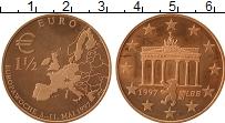 Изображение Монеты Германия 1 1/2 евро 1997 Медь UNC- UNUSUAL