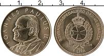 Продать Монеты Мальтийский орден 1 лира 2005 Медно-никель