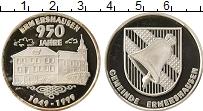 Изображение Монеты Германия Жетон 1999 Серебро Proof- 950 лет Эрмерсхаузен