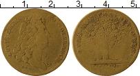Изображение Монеты Франция Жетон 0 Латунь VF Счетный жетон, Людов