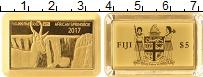 Изображение Монеты Фиджи 5 долларов 2017 Золото Proof
