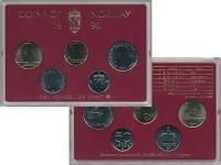 Изображение Подарочные монеты Норвегия Набор 1996 года 1996  UNC