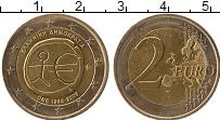 Изображение Монеты Греция 2 евро 2009 Биметалл UNC- 10 лет Экономическом