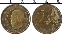 Изображение Монеты Греция 2 евро 2013 Биметалл UNC- Академия Плутона