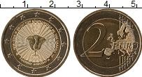 Изображение Монеты Греция 2 евро 2018 Биметалл UNC-