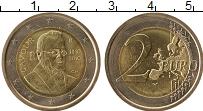 Изображение Монеты Италия 2 евро 2010 Биметалл UNC- 200 лет со дня рожде