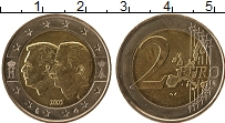 Изображение Монеты Бельгия 2 евро 2005 Биметалл UNC- Бельгийско-Люксембур