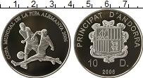 Изображение Монеты Андорра 10 динерс 2006 Серебро Proof-