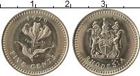 Продать Монеты Родезия 5 центов 1977 Медно-никель