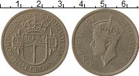 Продать Монеты Родезия 1/2 кроны 1951 Медно-никель