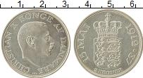 Изображение Монеты Дания 2 кроны 1937 Серебро XF Кристиан X