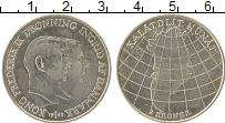 Изображение Монеты Дания 2 кроны 1953 Серебро XF Начало кампании по б