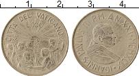 Изображение Монеты Ватикан 100 лир 1999 Медно-никель UNC- Иоанн Павел II