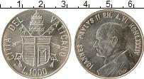 Изображение Монеты Ватикан 1000 лир 1984 Серебро UNC-