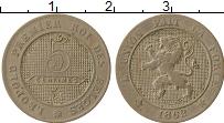 Изображение Монеты Бельгия 5 сантим 1862 Медно-никель VF