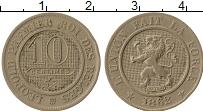 Изображение Монеты Бельгия 10 сантим 1862 Медно-никель VF