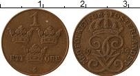 Изображение Монеты Швеция 1 эре 1929 Бронза XF Густав V