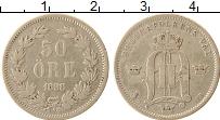 Изображение Монеты Дания 50 эре 1898 Серебро VF+