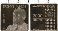 Изображение Монеты Венгрия 2000 форинтов 2017 Медно-никель Proof