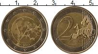 Изображение Мелочь Финляндия 2 евро 2017 Биметалл UNC-