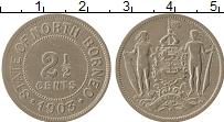 Продать Монеты Борнео 2 1/2 цента 1920 Медно-никель