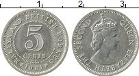 Продать Монеты Борнео 5 центов 1961 Медно-никель