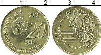Продать Монеты Малайзия 20 сен 2012 Медь