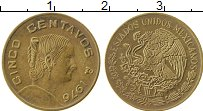 Изображение Монеты Мексика 5 сентаво 1976 Латунь XF Хосефа Ортис де Доми
