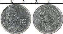 Изображение Монеты Мексика 1 песо 1985 Бронза XF