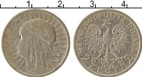Изображение Монеты Польша 2 злотых 1932 Серебро VF+