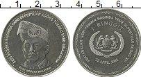 Продать Монеты Малайзия 1 рингит 2002 Медно-никель