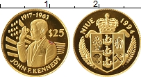Изображение Монеты Новая Зеландия Ниуэ 25 долларов 1994 Золото Proof-