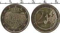 Изображение Монеты Ирландия 2 евро 2019 Биметалл UNC-