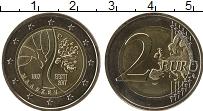 Изображение Мелочь Эстония 2 евро 2017 Биметалл UNC-