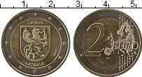 Продать Монеты Латвия 2 евро 2017 Биметалл
