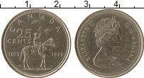 Изображение Монеты Канада 25 центов 1973 Медно-никель XF