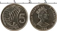 Продать Монеты Каймановы острова 5 центов 1999 Медно-никель