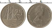 Продать Монеты Каймановы острова 25 центов 1982 Медно-никель