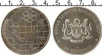Изображение Монеты Малайзия 25 рингит 1977 Серебро UNC Азиатские игры