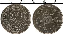 Изображение Монеты Литва 1 евро 2018 Медно-никель UNC-