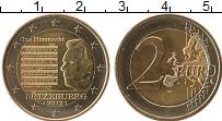 Изображение Монеты Люксембург 2 евро 2013 Биметалл UNC- Национальный гимн Лю