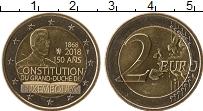 Продать Монеты Люксембург 2 евро 2018 Биметалл