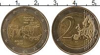 Изображение Монеты Мальта 2 евро 2016 Биметалл UNC- Доисторические компл