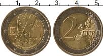 Изображение Монеты Португалия 2 евро 2012 Биметалл UNC- Гимараеш-культурная