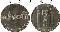 Изображение Монеты Португалия 2 1/2 евро 2010 Медно-никель UNC- Площадь Терейру ду П